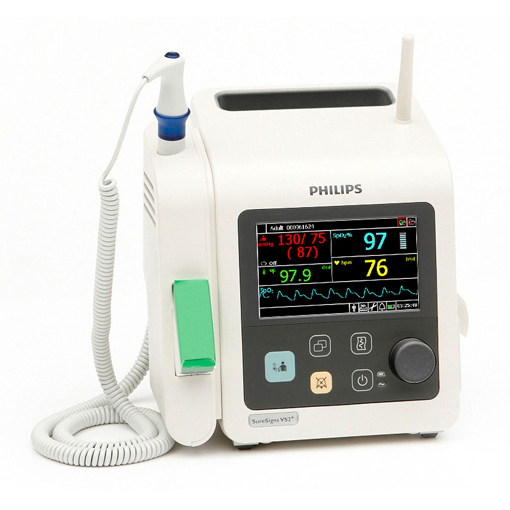 SureSigns VS2+ Vital Signs Monitor with NBP & SpO2