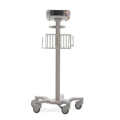 Standard Rollstand w/Mounting Plate for Philips SureSigns VS & VM Patient Monitors