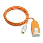 ECG 3-Lead Trunk Cable for Philips SureSigns VM4, VM6 & VM8 Patient Monitors